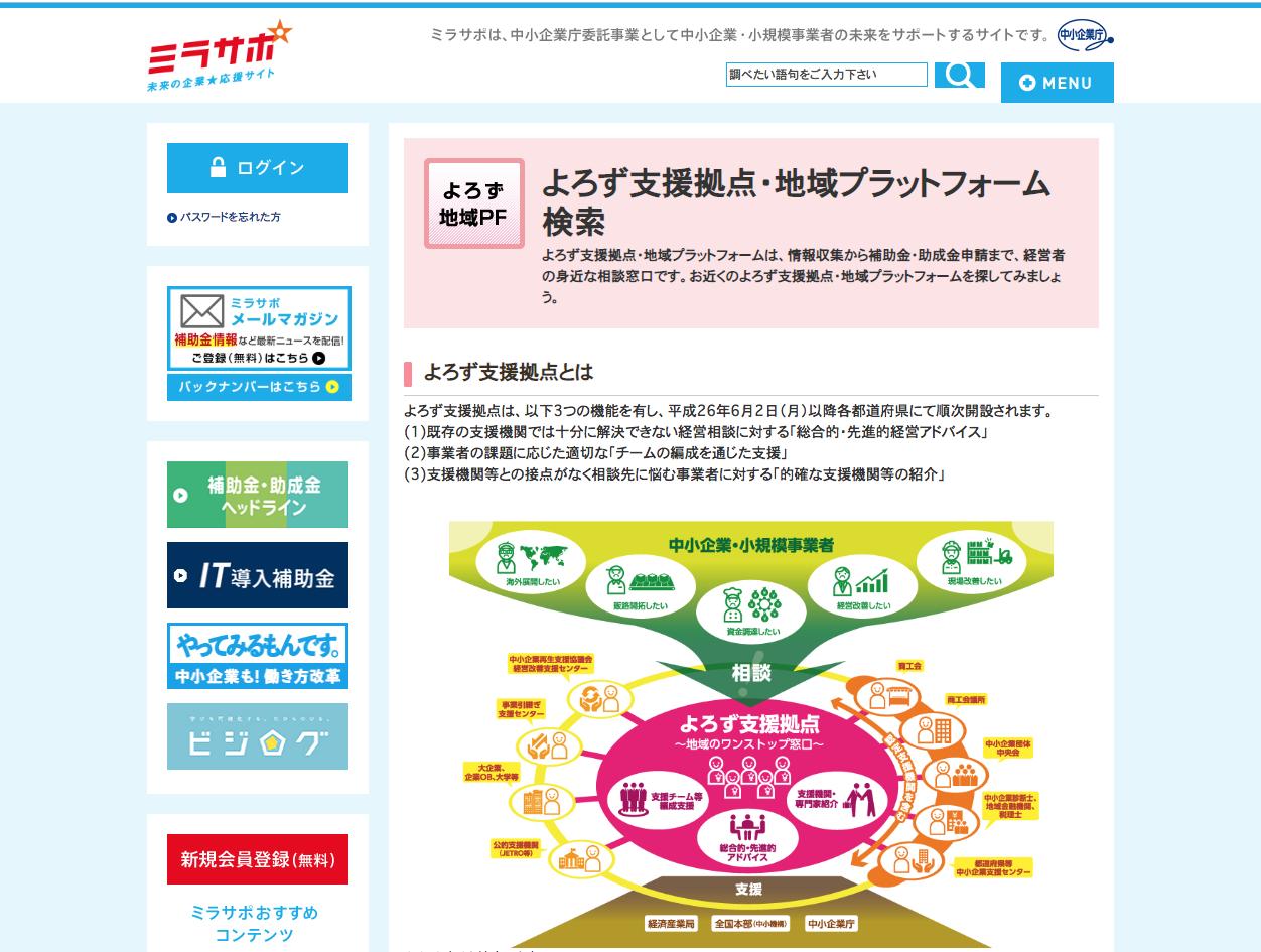 https://www.mirasapo.jp/regionplatform/index.html